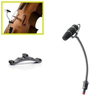 DPA DPA d:vote CORE 4099 Cello MicLoudSPL,Clip & Bag, MicroDotinkl. DAD6001 XLR Adapter