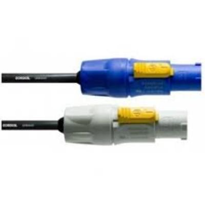 Cordial CFCA 1.5 FCB 2x powerCON (blue/grey) 1.5m