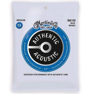 Martin & Co MA150 Authentic Acoustic SP – 80/20 Bronze .013-.056 Medium