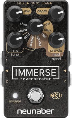 Neunaber Technology Immerse Mk II – Reverberator