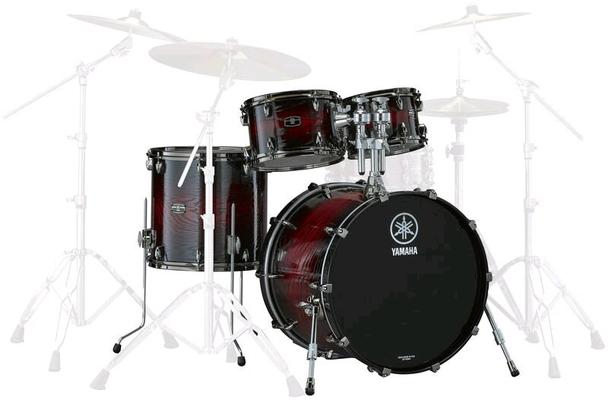 Yamaha Percussions ROCK SET LIVE CUSTOM HYBRID O Magma Sunburst