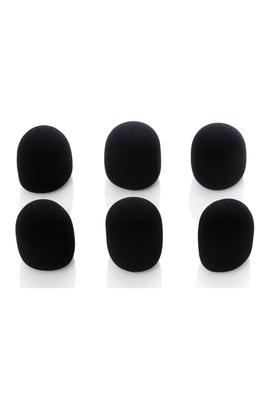 Bespeco Foam Microphone Windscreen 6 pièces Black