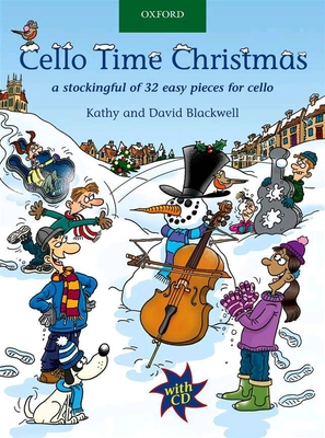 Cello Time Christmas   Blackwell  Cello Buch + CD  9780193369320 /  / Oxford University