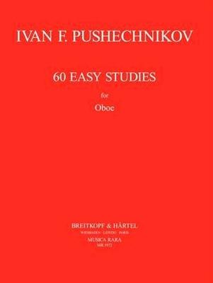 60 leichte Studien / Ivan F. Pushechnikov / Breitkopf