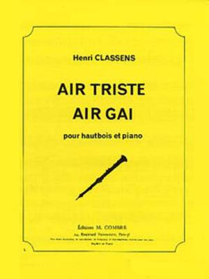 Air gai – Air triste / Henri Classens / Combre