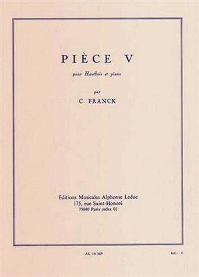 Pièce V / César Franck / Leduc