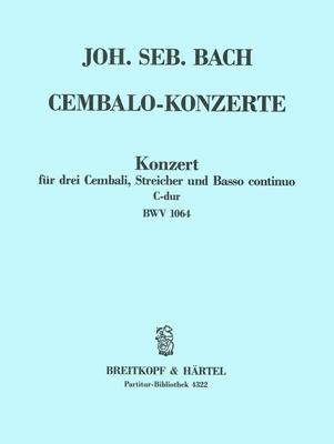 Cembalokonzert C-dur BWV 1064 Conducteur / Johann Sebastian Bach / Breitkopf