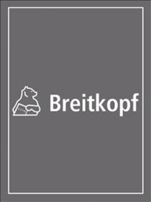 Cembalokonzert C-dur BWV 1064 Clavecin solo 2 / Johann Sebastian Bach / Breitkopf