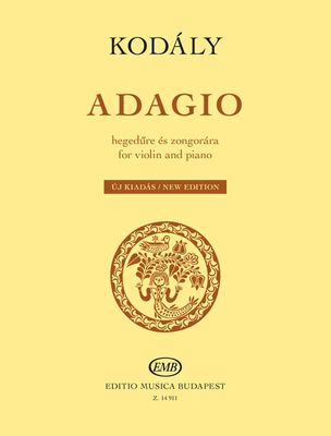 Adagio For Violin And Piano / Zoltn Kodly / EMB Editions Musica Budapest
