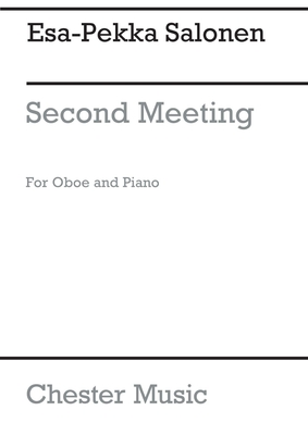 Second Meeting for Oboe and Piano / Esa-Pekka Salonen / Chester Music