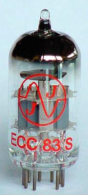 JJ Electronic ECC83S / 12AX7 / 7025