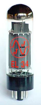 JJ Electronic EL34 MATCHED PAIR