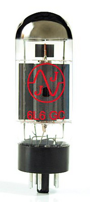 JJ Electronic 6L6GC / 5881 MATCHED PAIR