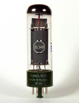 Tung-Sol  EL34B MATCHED TS PAIR