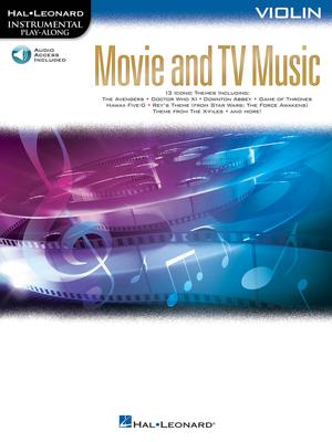 Hal Leonard Instrumental Play-Along / Movie and TV Music – Violin Instrumental Play-Along /  / Hal Leonard