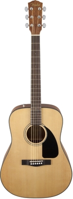 Fender CD-60 Dreadnought V3 DS Walnut Fingerboard Natural