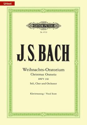 Edition Peters Green Series / Christmas Oratorio BWV 248 / Johann Sebastian Bach / Peters
