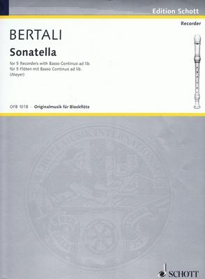 Sonatella  Antonio Bertali / Antonio Bertali / Ernst Meyer / Schott