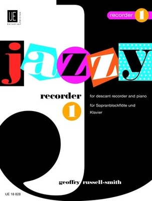 Jazzy Recorder 1 Bfl/P.  Geoffrey Russell-Smith / Geoffrey Russell-Smith / Universal Edition