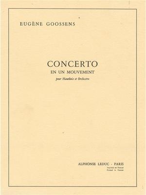 Eugene Goossens: Concerto en 1 Mouvement Op.45 / Eugene Goossens / Leduc