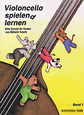 Cello spielen(d) lernen. Eine Schule für KinderA Violoncello Tutor for Children / Edwin Koch / Ulrike Patow / Sikorski Edition