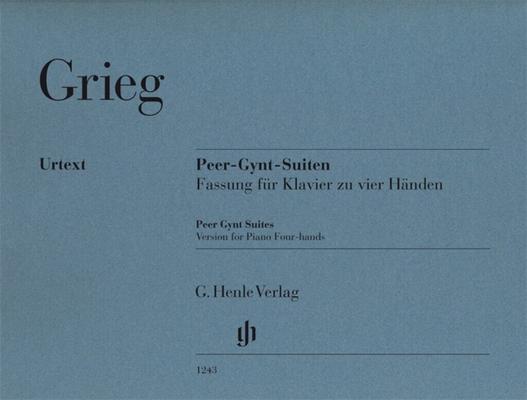 Henle Urtext Editions / Peer Gynt Suites – Version For Piano Four-Hands / Edvard Grieg / Ernst-Günter Heinemann / Einar Steen-Nokleberg / Henle