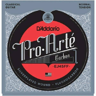 D'Addario PRO ARTE DYNA/CARBON Silverplated .028-.043 Normal Tension