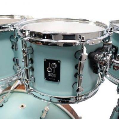 Sonor SQ1 320 Set bd20»  NM + 0807 TT + 1007 TT +  12 ft 14» 1615FT Cruiser Blue