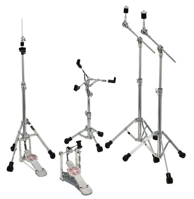 Sonor HS LT 2000  Hardware Set consisting of: HH LT 2000 Hi Hat Stand, SS LT 2000 Snare Drum Stand, 2 x MBS LT 2000 V2 Mini Boom Stand, SP 2000 Bass Drum Single Pedal