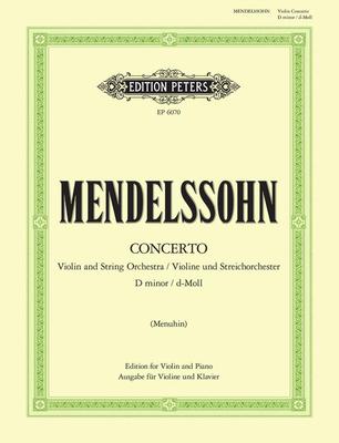 Concerto In D Minor  Felix Mendelssohn Bartholdy / Felix Mendelssohn Bartholdy / Peters