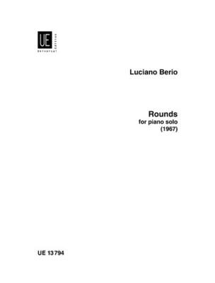 Rounds  Luciano Berio / Luciano Berio / Universal Edition