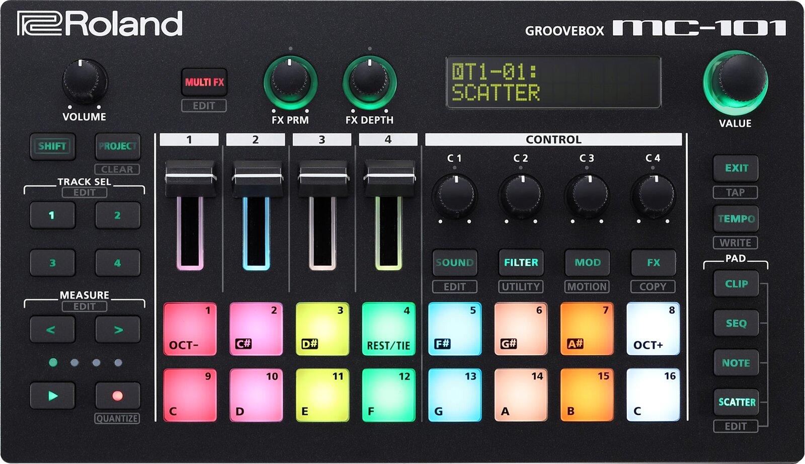 Roland MC-101 Groovebox : photo 1