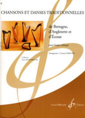 Chansons et Danses traditionelles de Bretagne d'Angleterre et d'Ecosse /  / Billaudot