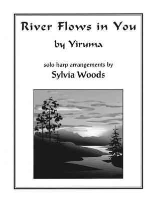 Harp / River Flows In You de Yiruma arrangement par Sylvia Woods / Yiruma / Sylvia Woods