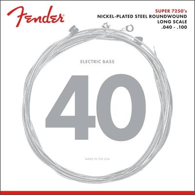 Fender 7250L El. SUP. BASS 40-100 Sup. Nick.Plat. Ste. R./W.  Light
