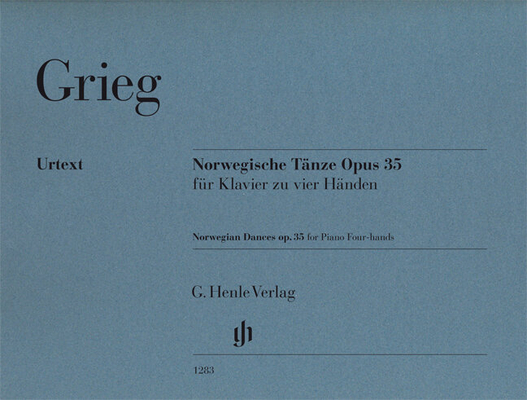 Danses NorvégiennesNorwegian Dances op. 35 for Piano Four-hands / Edvard Grieg / Ernst-Günter Heinemann / Einar Steen-Nökleberg / Henle