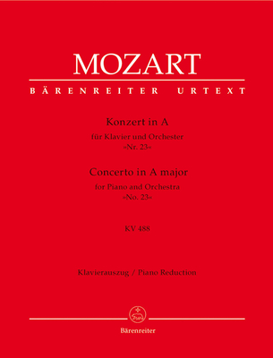 Concerto for Piano No.23 in A / Wolfgang Amadeus Mozart / Bärenreiter
