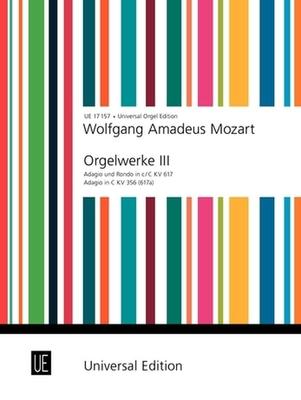 Orgelwerke 3  Wolfgang Amadeus Mozart / Wolfgang Amadeus Mozart / Universal Edition