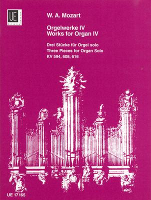 Orgelwerke 4  Wolfgang Amadeus Mozart / Wolfgang Amadeus Mozart / Universal Edition
