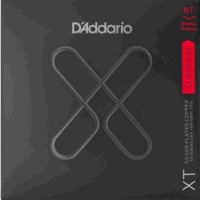 D'Addario Classical Guitar Set XT Composite, Silverplated Copper 28-44, Normal Tension