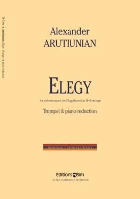 Elegy trumpet and string orchestra or pianoAlexander Arutiunian / Alexander Arutiunian / BIM