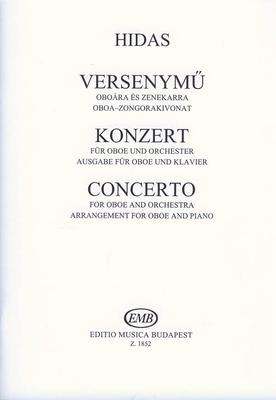 Concerto pour hautbois et orchestreKonzert für Oboe und Orchester / Frigyes Hidas / EMB Editions Musica Budapest
