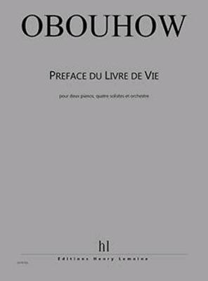 Préface du Livre de Vie / Nicolas Obouhov / Henry Lemoine