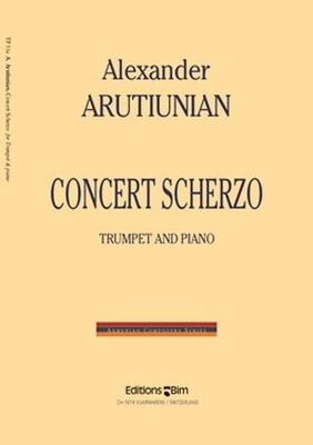 Concert ScherzoTrompete und Klavier / Alexander Arutiunian / BIM