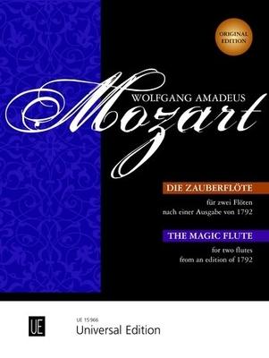 La flute enchantee pour deux flutesMagic Flute 2 Flutes / Wolfgang Amadeus Mozart / Universal Edition
