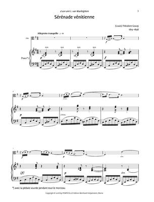 Sérénade vénitienne / (Louis) Théodore Gouvy / Ponticello Edition