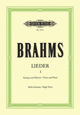 Edition Peters Green Series / Lieder Vol.1  Johannes Brahms  Vocal and Piano Buch Klassik EP3201A / Johannes Brahms / Peters