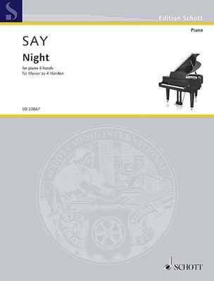 Night Op. 68  Fazil Say  Piano 4 Hands / Fazil Say / Schott