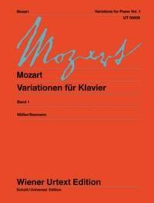 Wiener Urtext Edition / Varations Vol. 1  Wolfgang Amadeus Mozart / Wolfgang Amadeus Mozart / Wiener Urtext