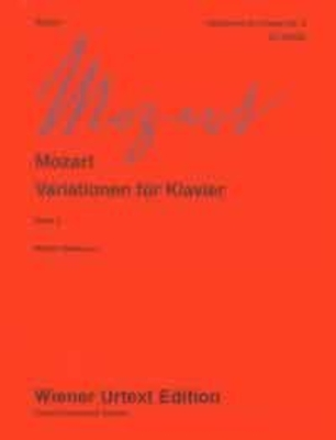 Wiener Urtext Edition / Varations Vol. 2  Wolfgang Amadeus Mozart / Wolfgang Amadeus Mozart / Wiener Urtext